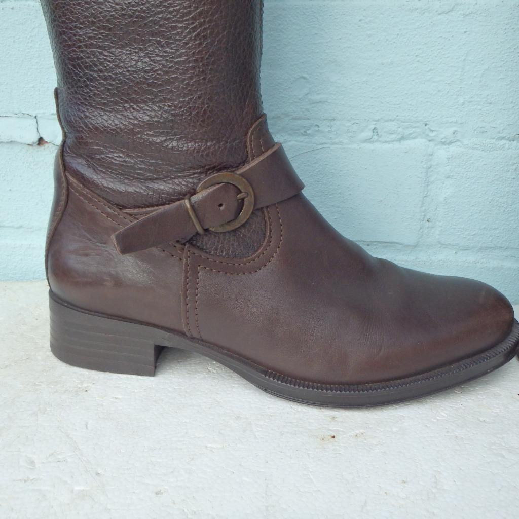 outlet online special for shoe free shipping Aldo Brown Leather Boots Size Uk 3 Eur 36 Sexy Womens Ladies ...
